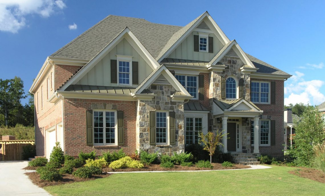 Residential exterior home cleaning