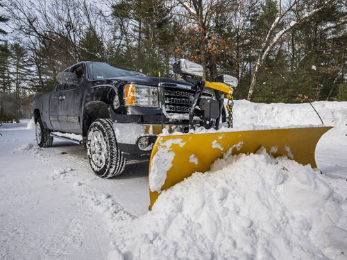snow plowing services delaware